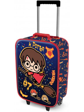 Maleta Infantil Trolley Harry Potter Quidditch Kawaii