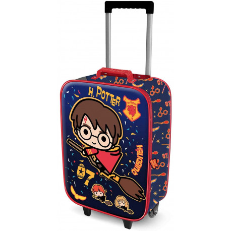 Mochila Trolley Harry Potter Quidditch Kawaii