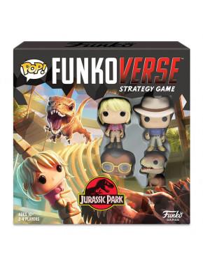 Funkoverse Jurassic Park juego de mesa 2-4 jugadores Inglés