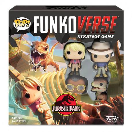 Funkoverse Jurassic Park juego de mesa 2-4 jugadores