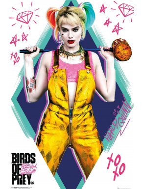 Póster Harley Quinn Birds of Prey DC Comics