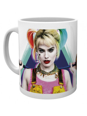 Taza Harley Quinn Birds of Prey DC Comics