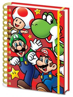 Cuaderno Super Mario