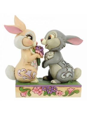Figura Tambor y Flor Jim Shore Bambi Disney