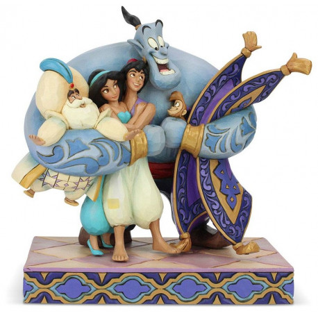 Figura Aladdin Jim Shore Disney