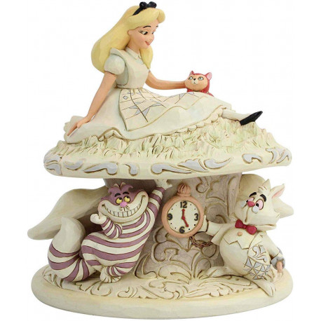 Figura Alicia en Wonderland Jim Shore Disney