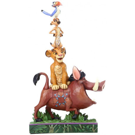 Figura Disney Equilibrio Natural Jim Shore El Rey León