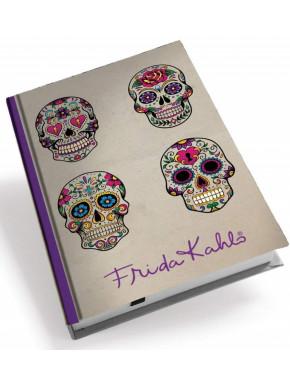 Libreta Calaveras Frida Khalo