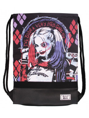 Mochila Saco Harley Quinn DC Comics