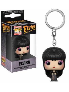 Llavero mini Funko Pop! Elvira reina de las tinieblas