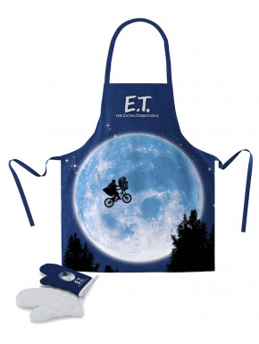 Delantal & Manoplas E.T.