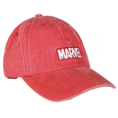 Gorra Marvel Logo Roja