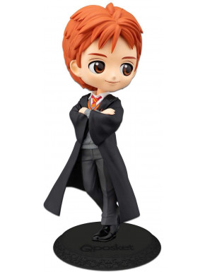Pack de figuras Harry Potter Fred Weasley Banpresto Q Posket 14 cm