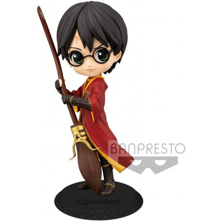 Figura Harry Potter Quidditch Banpresto Q Posket 14 cm