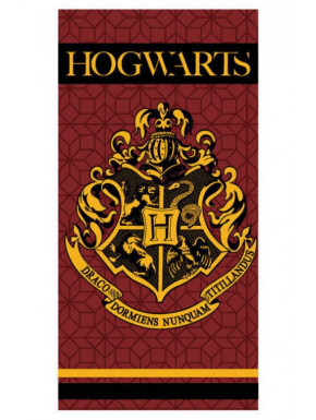 Toalla Harry Potter Hogwarts Granate