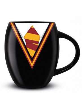 Taza ovalada Gryffindor Uniforme Harry Potter