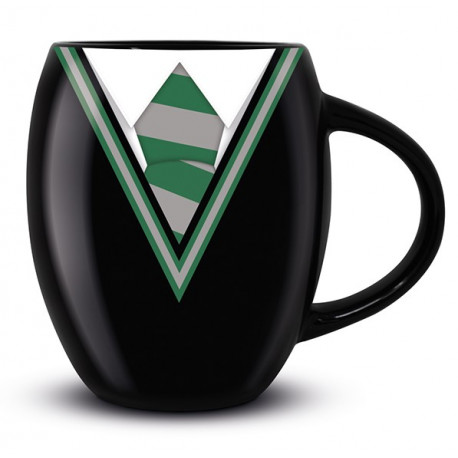 Taza ovalada Slytherin Harry Potter