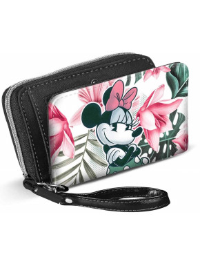 Cartera Billetera Minnie Disney Floral