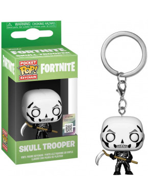 Llavero mini Funko Pop! Skull Trooper Fortnite