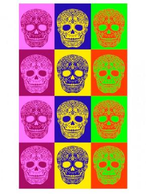Toalla Calaveras Multicolor
