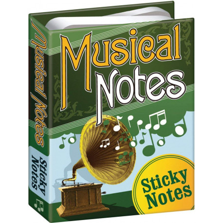 Notas Adhesivas Notas Musicales