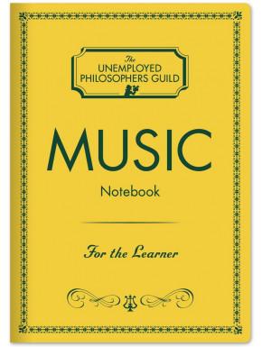 Mini Libreta Vintage Música