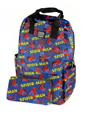 Mochila estuche Loungefly Spiderman Loungefly