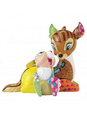 Figura Bambi & Tambor Disney Britto