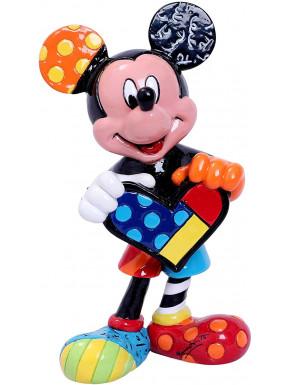 Figura Mickey Mouse con Corazón Disney Britto