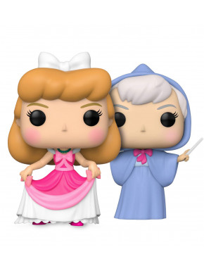 Pack Cenicienta y Hada Madrina Funko Pop!