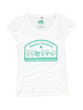Camiseta chica Animal Crossing