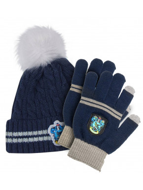 Gorro y Guantes Harry Potter Ravenclaw