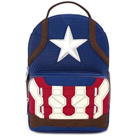 Mochila Loungefly Capitán América Marvel