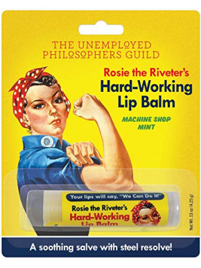 Bálsamo de labios Rosie the Riveter