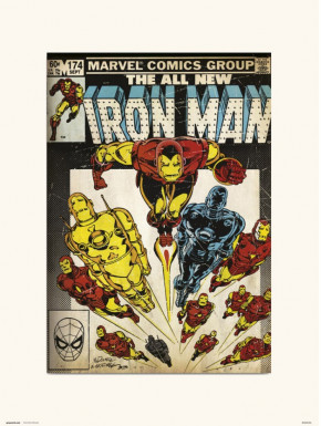 Lámina Iron Man Marvel 30 x 40 cm