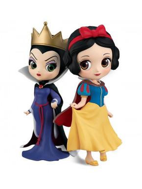 Pack figuras Blancanieves y Madrastra Banpresto Q Posket Disney