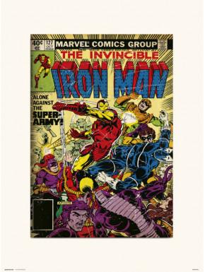 Lámina Iron Man Marvel 127 30 x 40 cm