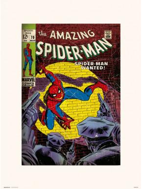 Lámina Spiderman 70 Marvel 30 x 40 cm