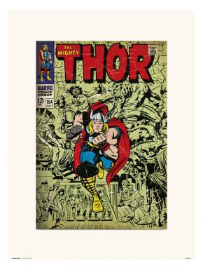 Lámina Thor Marvel 30 x 40 cm