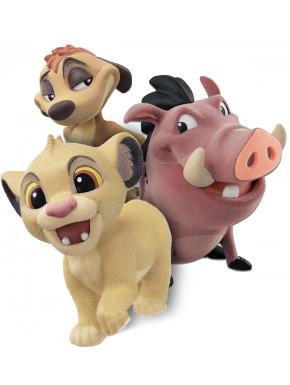 Figuras Rey León Fluffy Pluffy Disney