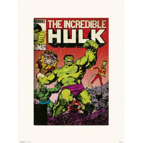 Lámina Hulk Marvel 314 30 x 40 cm
