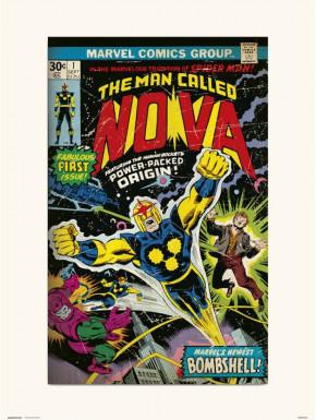 Lámina Nova Marvel 30 x 40 cm