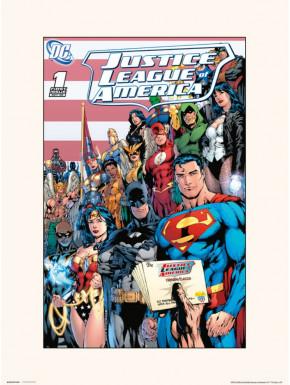 Lámina DC Comics VOL 2 NO.1 30 x 40 cm