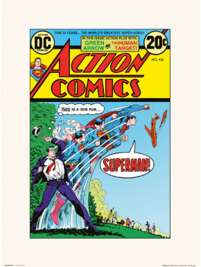 Lámina Action Comics 426 30 x 40 cm