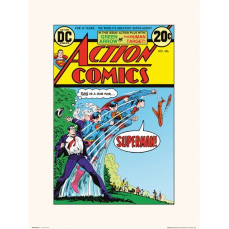 Lámina Action Comics 426 30 x 40 cm