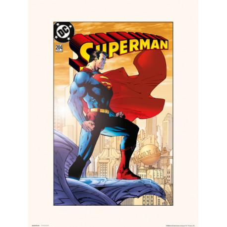 Lámina Superman VOL 2 NO.204 30 x 40 cm