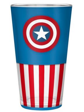 Vaso Capitán América Marvel