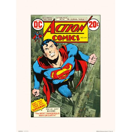 Lámina Action Comics 419 30 x 40 cm