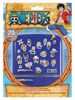 Set imanes One Piece Chibi