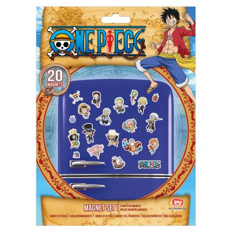 Set imanes One Piece